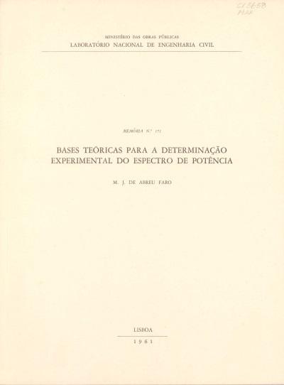 Bases teóricas para a determinação experimental do espectro de potência