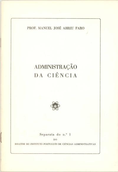 Administração da ciência