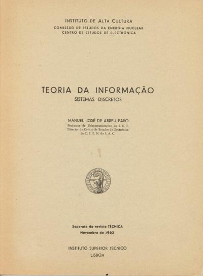 Teoria da Informação: sistemas discretos