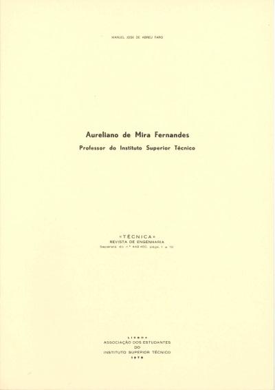 Aureliano de Mira Fernandes