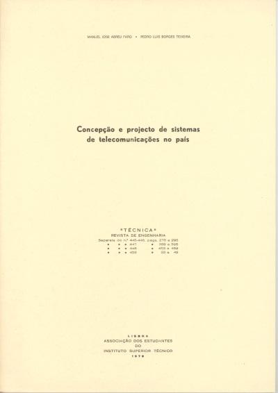 Concepção e projecto de sistemas de telecomunicações no país