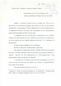 Prof. Ferreira Dias Sessão Solene [1991]