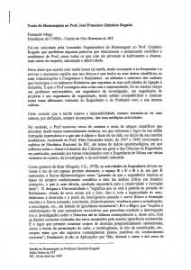Prof. José Quintino Rogado [1999]
